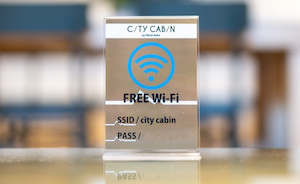 Equipped with free Wi-Fi